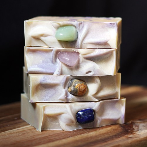Patchouli Petigrain Crystal Soap