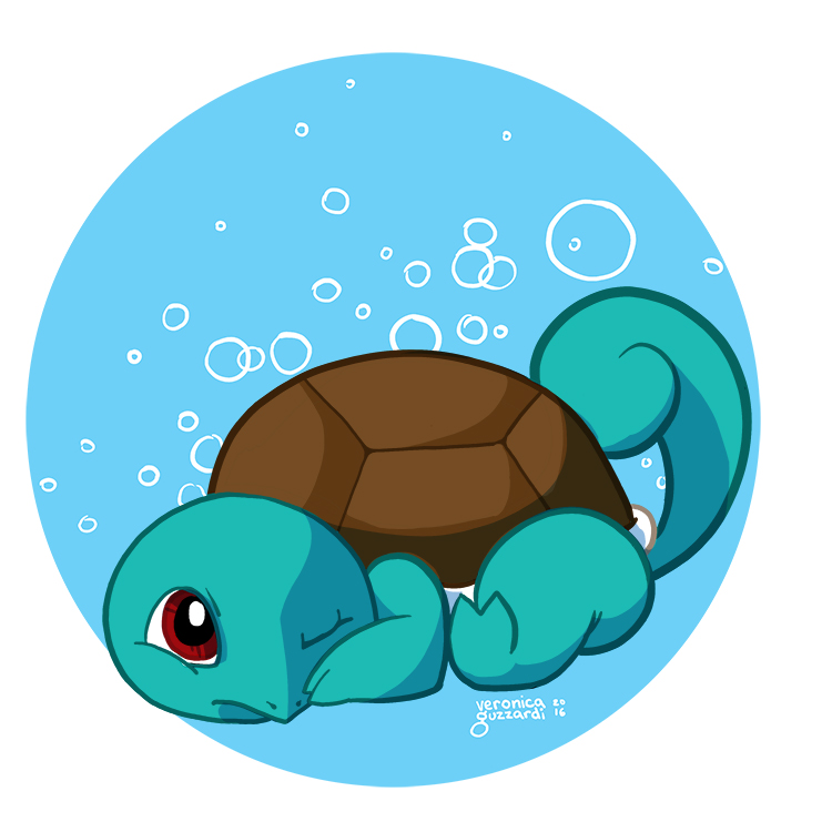 007— Squirtle