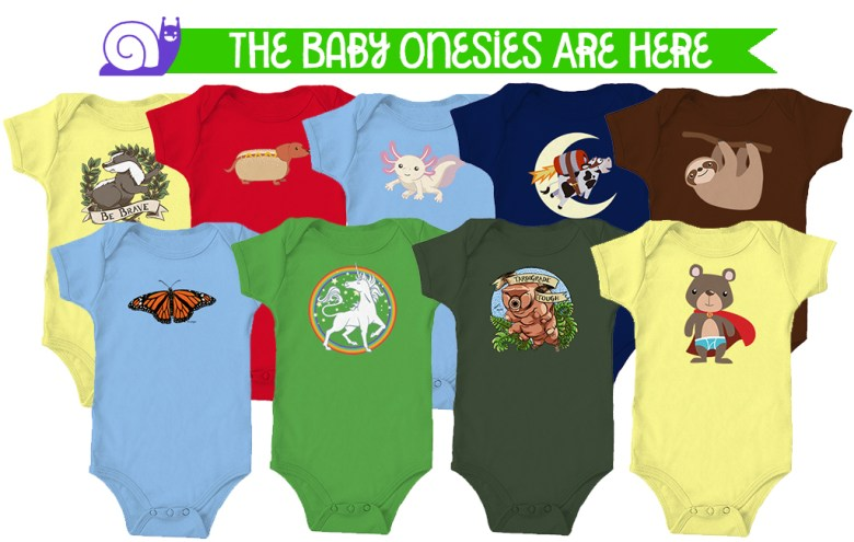 The Onesies Are Here