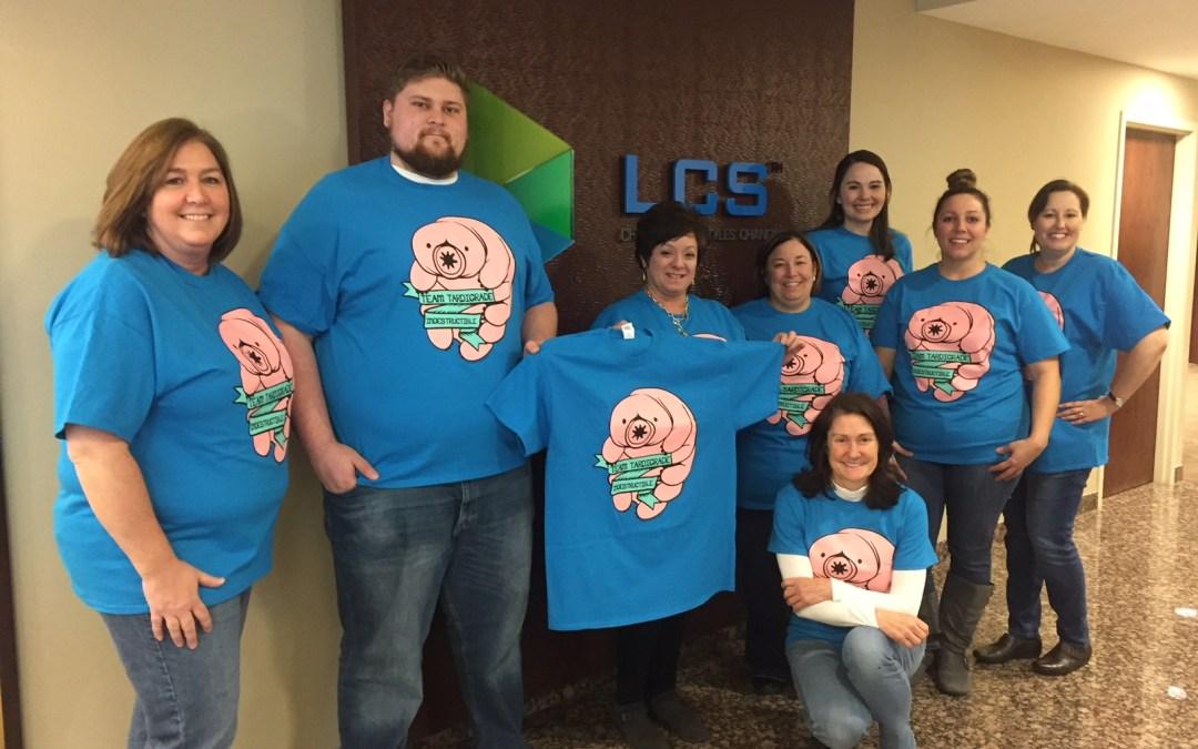 Custom Team T-Shirts for Team Tardigrade!