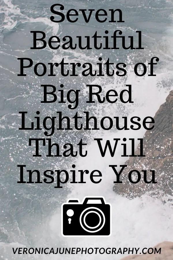 Big Red Lighthouse PIN image
