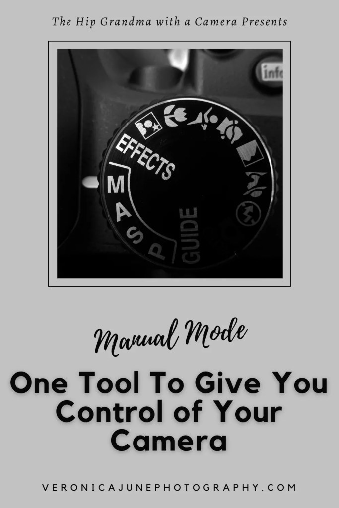 PIN image for Manual Mode showing a camera dial with an M
