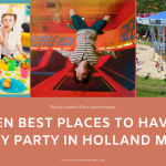AD image for birthday parties in holland mi
