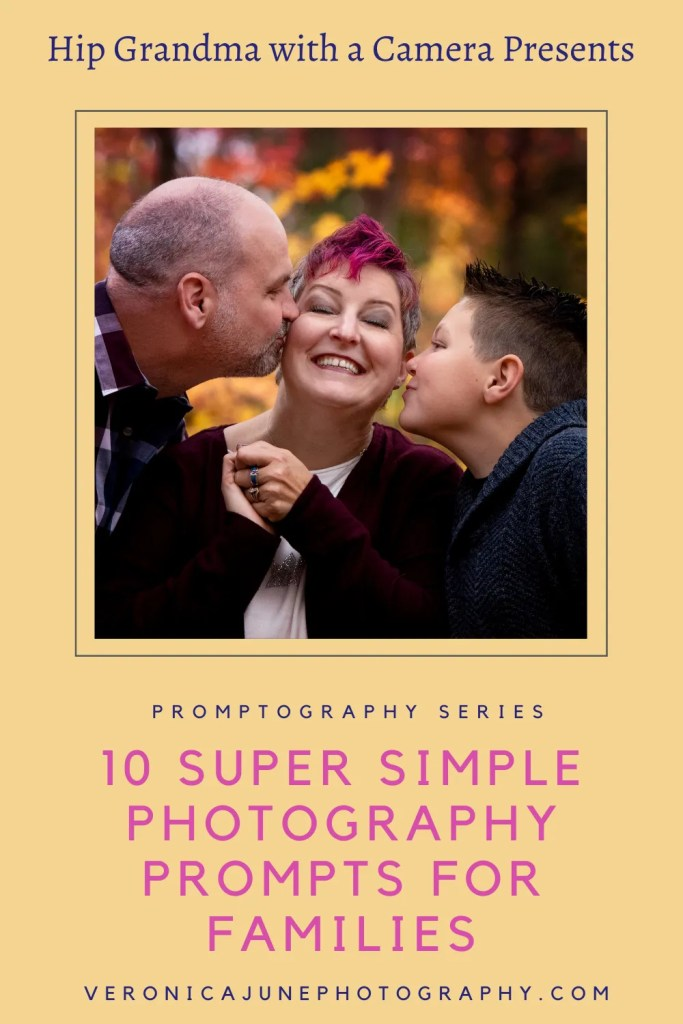 PIN image for Photography Prompt for Families