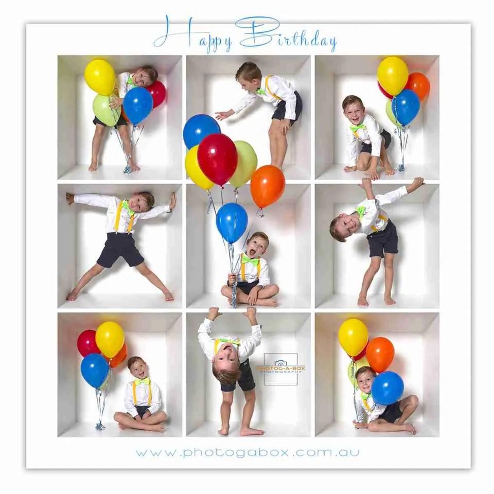 birthday boy in a box photo