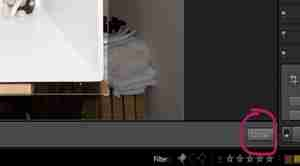 "Lightroom Screenshot showing ""done"" button"