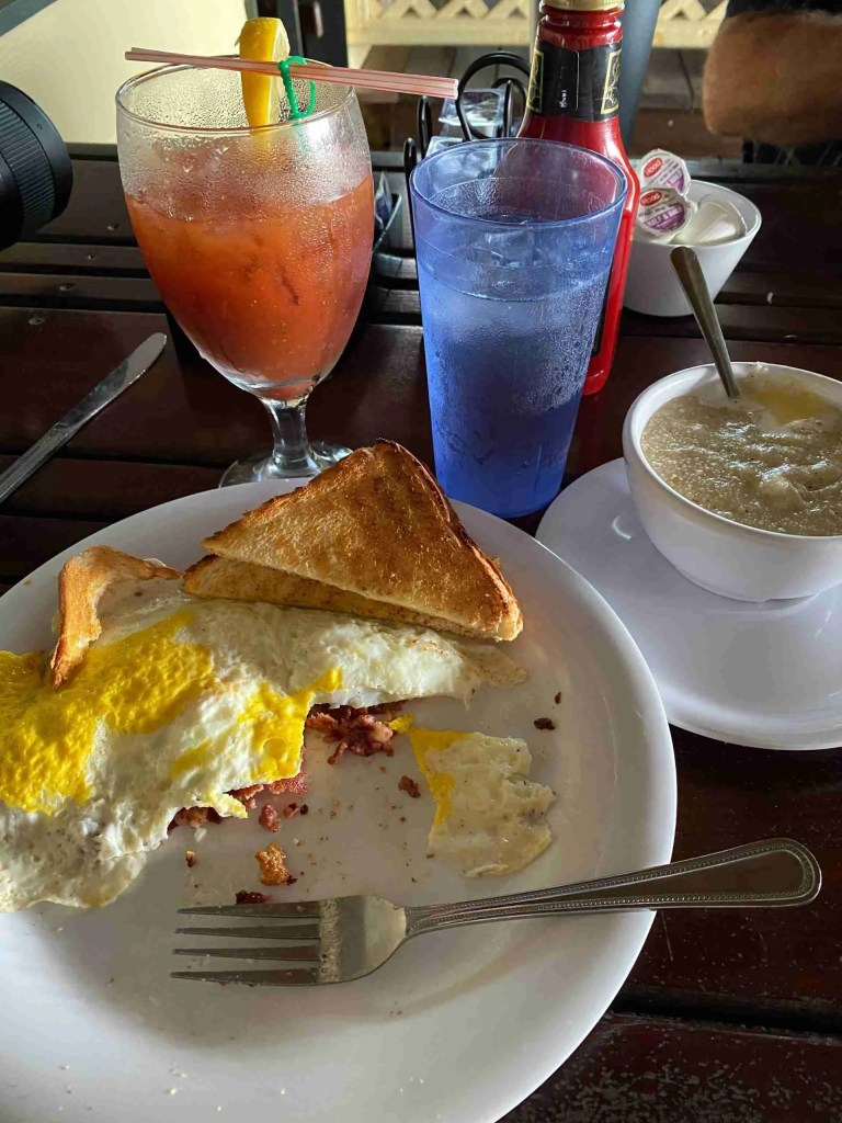corned beef hash breakfast at Seahorse Cafe - one of the best places to eat in St Pete Fl