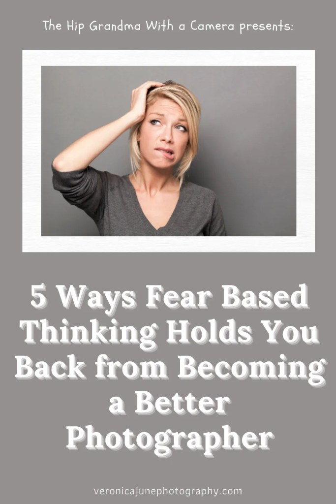 PIN image with a woman making a fear based thinking face