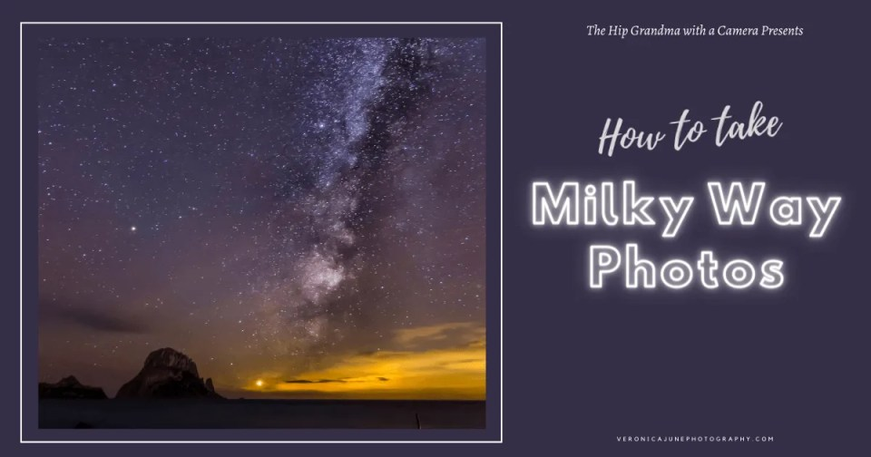 AD image for How to take photos of the milky way - showing a photo of the milky way
