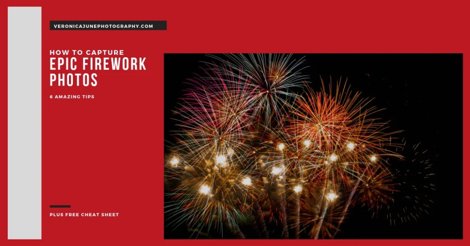 AD image for fireworks photos showing fireworks at night