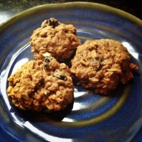 Soft and Chewy Oatmeal Cookies (Made with Coconut Sugar)