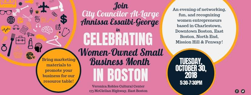 Celebrating Women-Owned Small Business Month in Boston