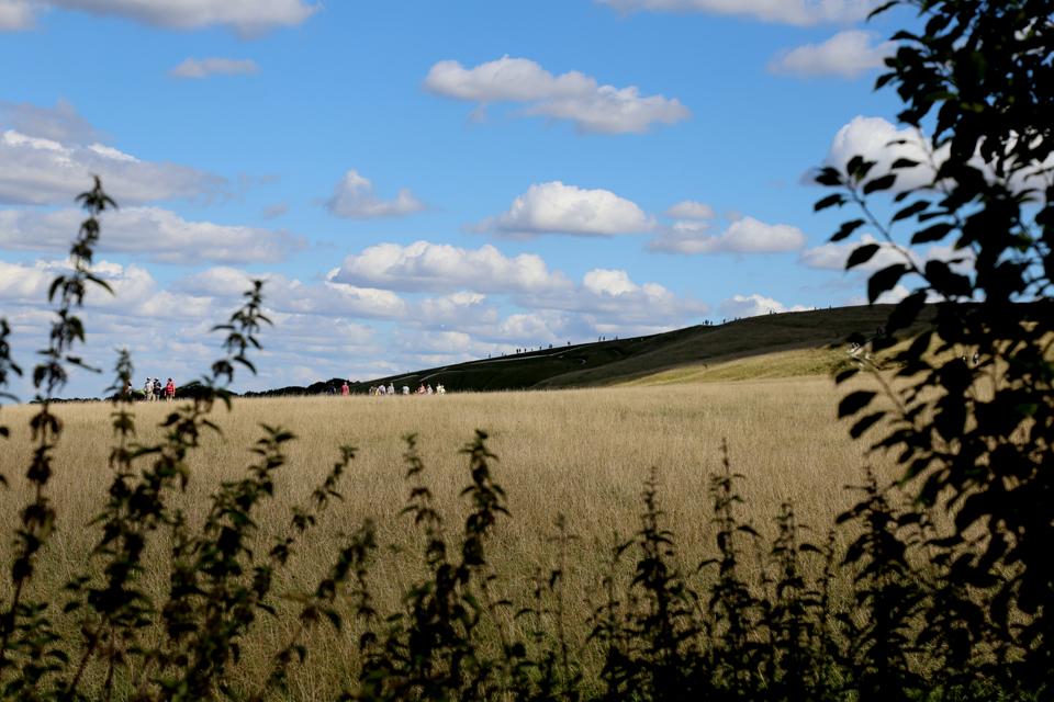 At the White Horse, Uffington