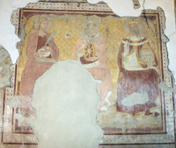Montepescali,_san_niccolò,_interno,_resti_di_affreschi_del_1380-90_circa_02