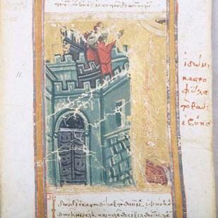 10. Il Mandylion viene murato
