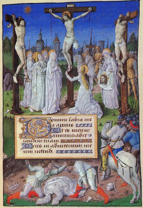 melbourne, felton 1072-3 f 73r kruisiging - kopie