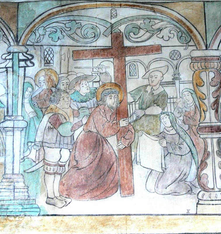 Brøns_kirke_-_Wandmalerei_9_-_Veronica.jpg