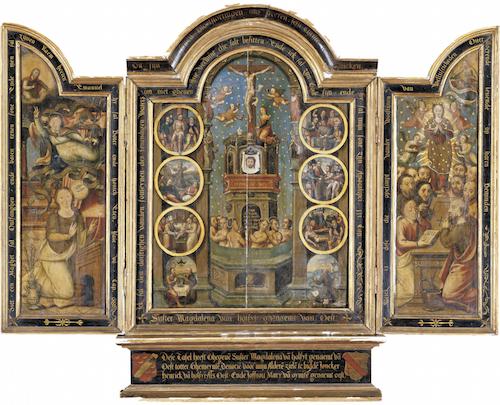 1530-40 trittico copia