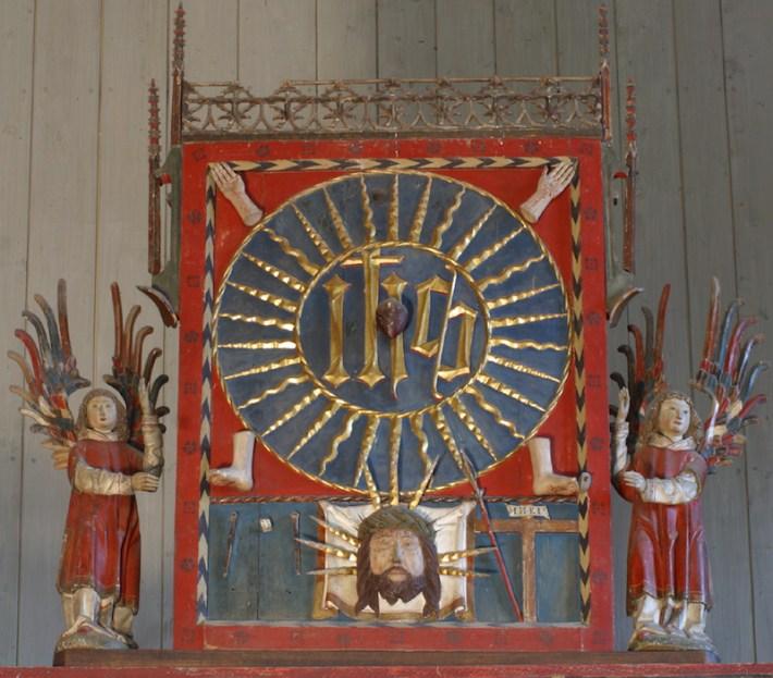 Marienaltar, Predella und Triptychon mit bekrönendem Aufsatz im Nonnenchor [2/8]