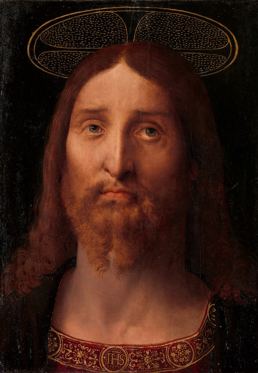 Fernando Yáñez de la Almedina (Spanish, Almedina, ca. 1475?–1536 Valencia) Head of Christ, ca. 1506 Oil on wood; 16 1/2 × 12 in. (41.9 × 30.5 cm) The Metropolitan Museum of Art, New York, Purchase, The Morris and Alma Schapiro Fund Gift, and Bequest of George D. Pratt, by exchange, 2014 (2014.149) http://www.metmuseum.org/Collections/search-the-collections/641257