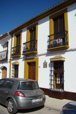 Villaverde del Río,-casa