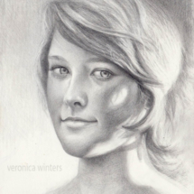 pencil portrait drawing