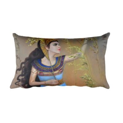 Rectangular Pillow: Cleopatra