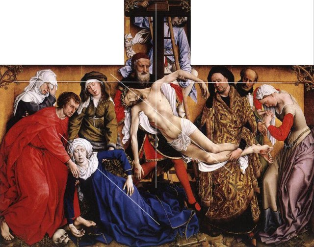 rogier_van_der_weyden_descent from the cross composition