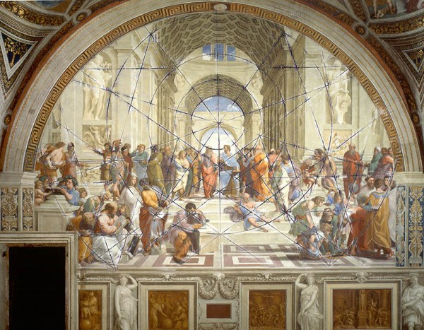 The school of Athens, Raphael, veronica winters video series