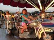 Kiran on Motorcycle Ride