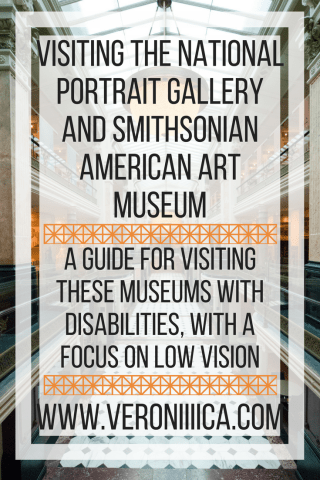 Visiting the National Portrait Gallery and Smithsonian American Art Museum