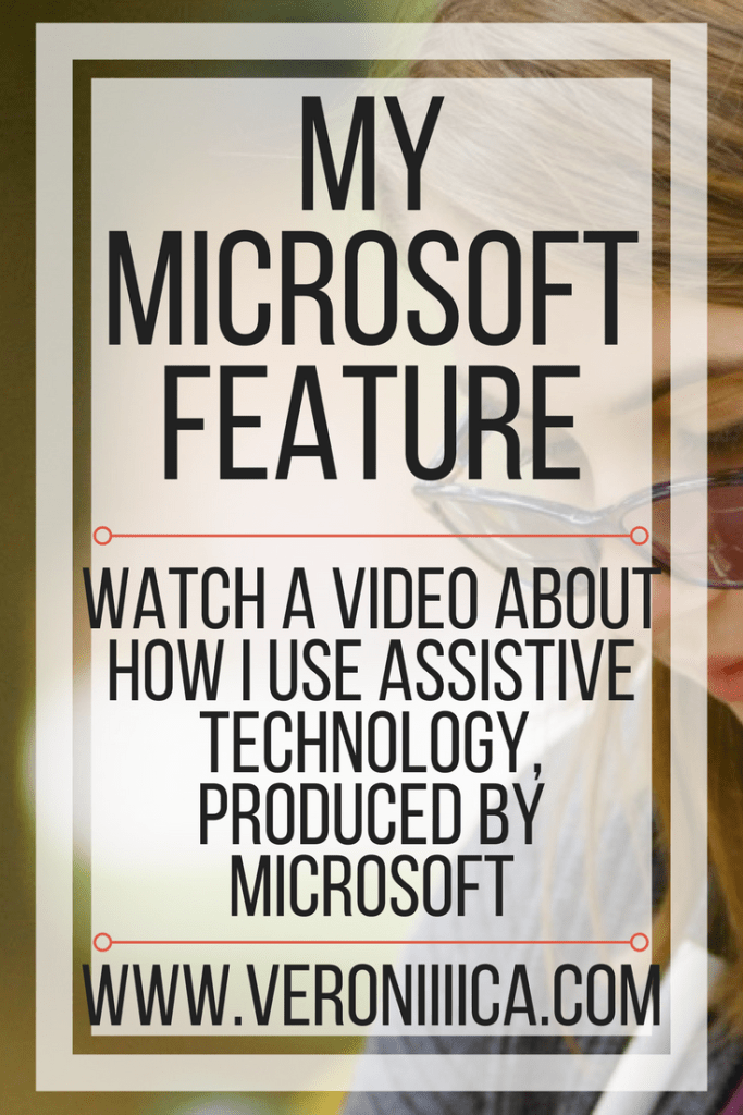 My inclusion in action feature by Microsoft