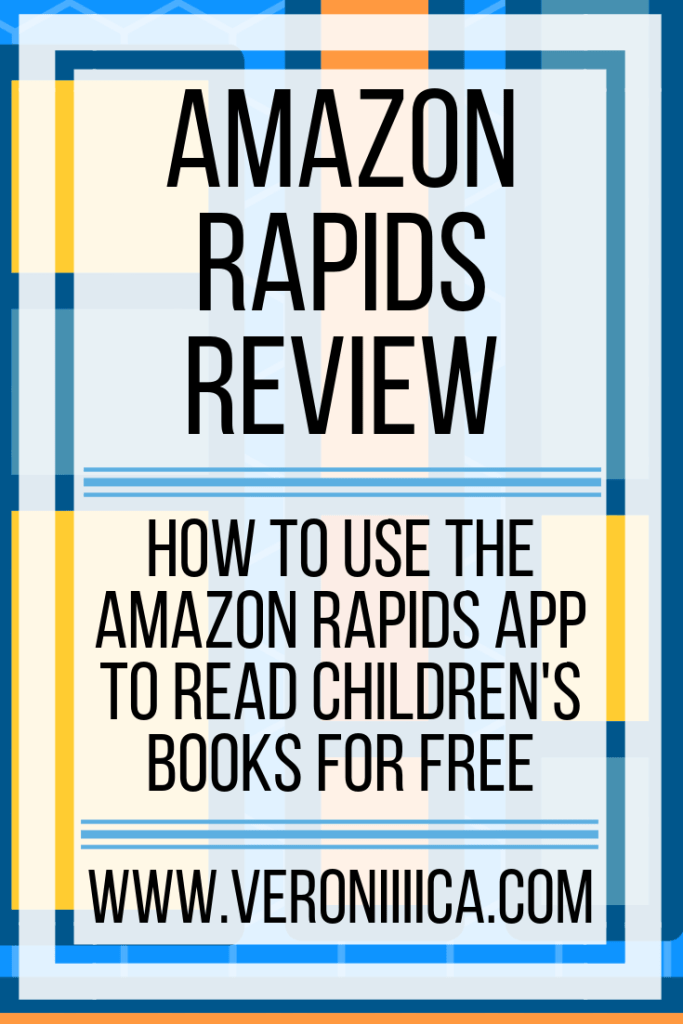 Amazon Rapids app review. How to use the Amazon Rapids app to read children's books for free. Great for print disabilities!