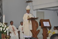 Mgr. Aloysius Soedarso, SCJ Uskup Agung Palembang merangkap administrator apostolik Keuskupan Tanjungkarang