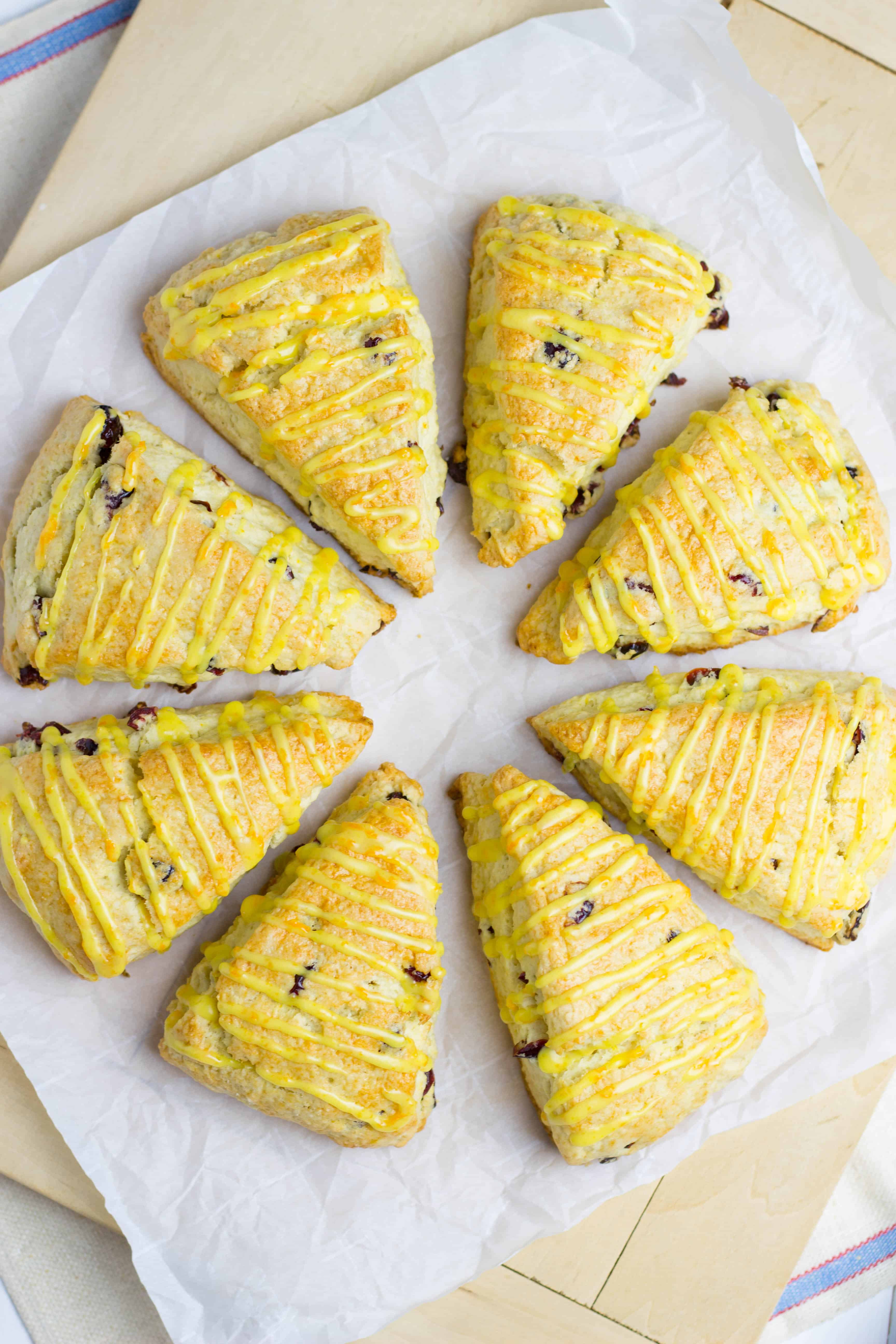 Orange Cranberry Scones