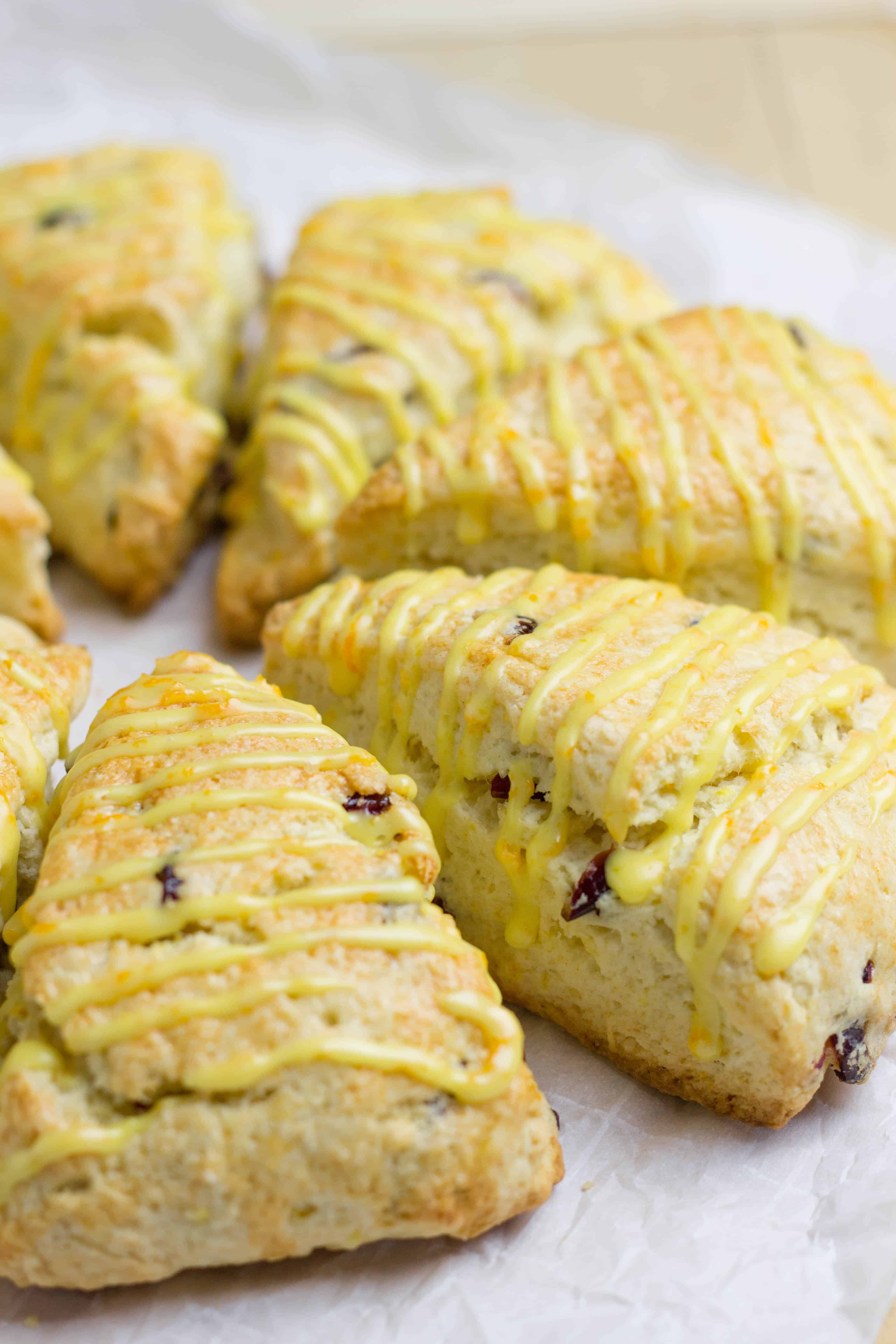 Orange Cranberry Scones.