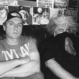 Buzz & Dale. Sourced from the Melvins' Facebook page