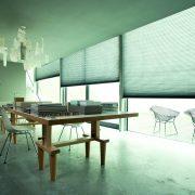 cortina plisada estándar verocell verosol