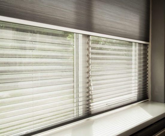 cortina plisada twin