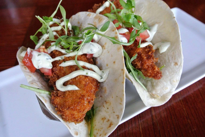 Crunchy Lobster Tacos