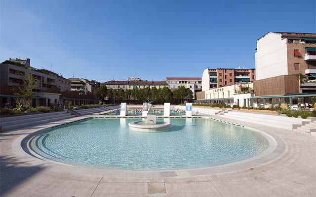 Bagni Misteriosi swimming pool