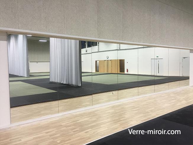 miroir pour salle de sport fitness a
