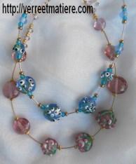 """Mes colliers """"Bouquets de fleurs"""""""