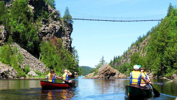 Image pour notre article Top 5 - Activités plein air en région éloignée avec Filles du Nord