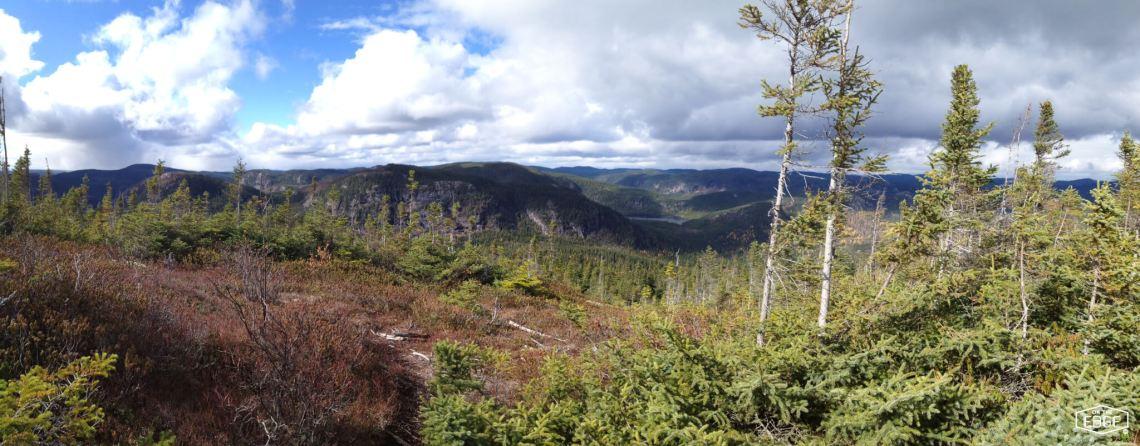 Image sur le sentier Pioui au Parc national des Grands-Jardins