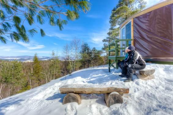 Image pour notre article Top 4 – Refuges pour profiter des joies de l'hiver