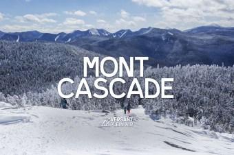 Mont Cascade en hiver