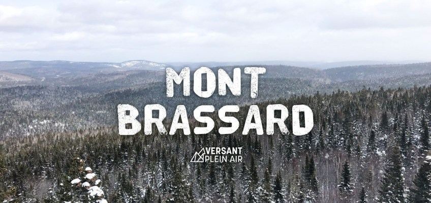 Boucle du Mont Brassard en hiver