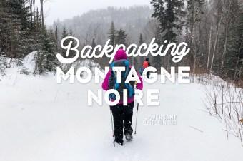La Montagne Noire en backpack