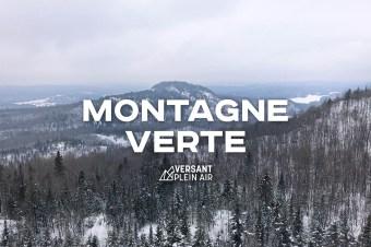 Montagne Verte en hiver